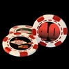 Custom Retirement Poker Chips