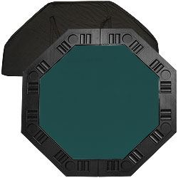 "48"" Dark Green 8 Player Octagonal Table top"