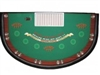 6.5' BlackJack Table Casino Deluxe