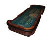 10 Foot Casino Style Craps Table