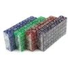 400 Dice - 16mm - Red, Blue, Green, Purple