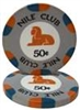 Nile Club Ceramic Poker Chips
