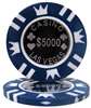 Coin Inlay 15 Gram Poker Chips- $5,000