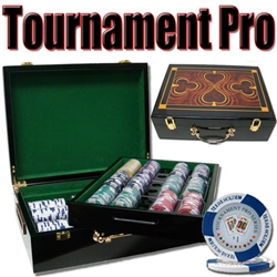 500 Tournament Pro Poker Chip Set with Hi Gloss Case