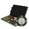 1,000 Bluff Canyon Poker Chip Set with Rolling Case