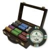 300 Bluff Canyon Poker Chip Set with Walnut Case