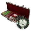 500 Bluff Canyon Poker Chip Set with Black Aluminum Case