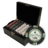 500 Bluff Canyon Poker Chip Set with Black Mahogany Case