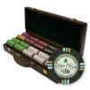 500 Bluff Canyon Poker Chip Set with Walnut Case