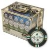 600 Bluff Canyon Poker Chip Set with Acrylic Carrying Case