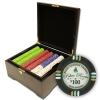 750 Bluff Canyon Poker Chip Set with Mahogany Case