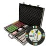 1,000 Desert Heat Poker Chip Set with Aluminum Case
