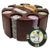 200 Desert Heat Poker Chip Set with Carousel