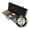500 Desert Heat Poker Chip Set with Aluminum Case
