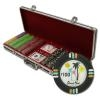 500 Desert Heat Poker Chip Set with Black Aluminum Case