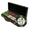 500 Desert Heat Poker Chip Set with Walnut Case