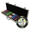 600 Desert Heat Poker Chip Set with Aluminum Case