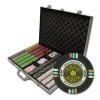 1,000 Gold Rush Poker Chip Set with Aluminum Case