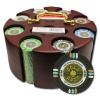 200 Gold Rush Poker Chip Set with Carousel