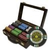 300 Gold Rush Poker Chip Set with Walnut Case