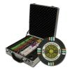 500 Gold Rush Poker Chip Set with Claysmith Case
