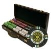 500 Gold Rush Poker Chip Set with Walnut Case