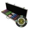 600 Gold Rush Poker Chip Set with Aluminum Case