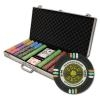750 Gold Rush Poker Chip Set with Aluminum Case