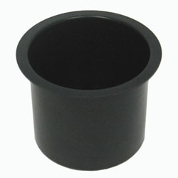 Jumbo Black Aluminum Cup Holder