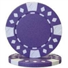 Diamond Suited Poker Chips - Purple