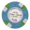 Monaco Club Poker Chips