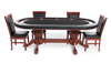The Rockwell High-End Furniture BBO Poker Table