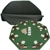 Deluxe Poker & Blackjack Table Top with Case