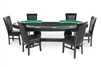 The Lumen HD BBO Poker Table with LEDs