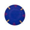 Triangle and Stick Poker Chips - Blue