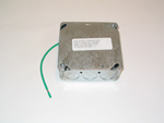 Junction box w/Cover & Ground Wire