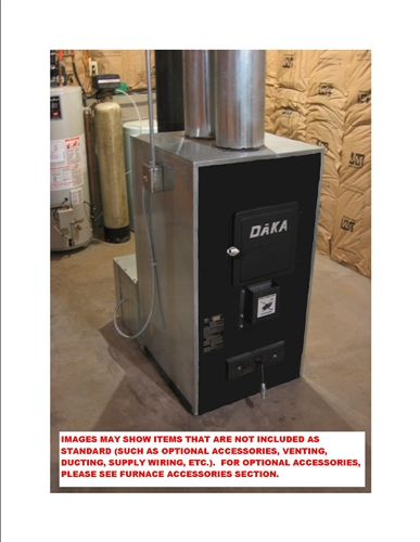 521FB Furnace, Wood or Coal Burning - Add-On/Central Furnace - NO LONGER on
