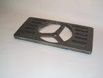 Shaker Grate Section, Rectangular
