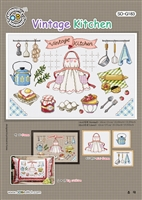 SO-G183 Vintage Kitchen Cross Stitch Chart
