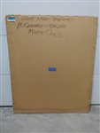1970 - 1972 Monte Carlo Hood Insulation, Original GM NOS