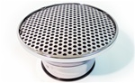 Baldwin Motion Phase III Velocity Stack Fly Eye Chrome Air Cleaner