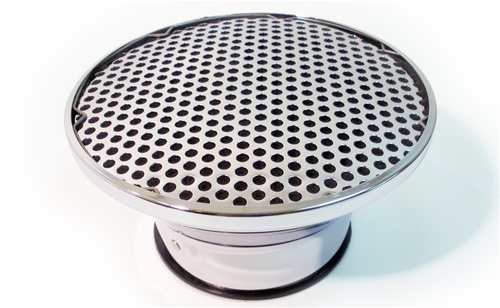 Baldwin Motion Air Cleaner : Baldwin motion phase iii velocity stack fly eye chrome air