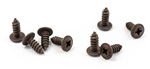 1970 - 1972 Chevelle Cowl Induction Hood Screen Mounting Screw Set