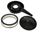 1970 - 1972 Chevelle Cowl Induction Air Cleaner Breather Base, Lid, and Filter Set