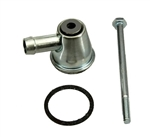 1955 - 1967 Small Block Chevy Crankcase Vent Tube Assembly with Gasket and Bolt