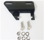1966 - 1968 Chevelle and Nova Lower Alternator Adapter Bracket, Small Block with Headers, Black