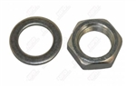 1966 - 1972 Chevelle and Nova Alternator Fan Pulley Mounting Nut and Washer Set