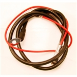 1966 Chevelle POSITIVE Spring Ring Top Post Battery Cable, Big Block 396