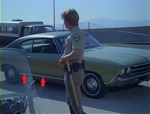 8 Piece 1969 Chevrolet El Camino Side Chrome Set
