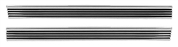 1968 - 1974 Nova Rocker Panel Chrome Molding Extensions, Pair